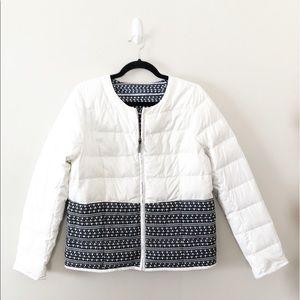 Hatley Down Fill Puffer Jacket Coat Reversible
